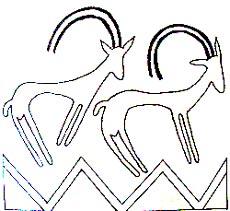Орнаментальный мотив древнего египта